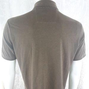 Banana Republic Shirts - Mens Banana Republic Fitted Pima Polo Shirt Size L